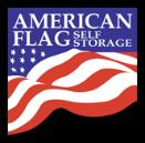 american flag storage